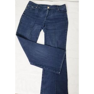 Chico's Black Label Center Seam Jeans sz L / 12